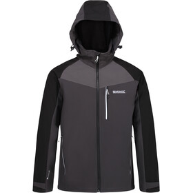 Regatta Hewitts VI Softshell Jacket Men, ash/black